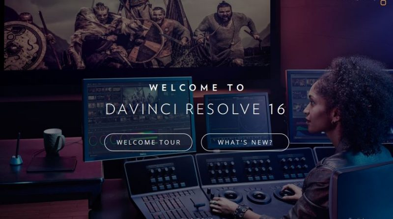 Download DaVinci Resolve Studio 16