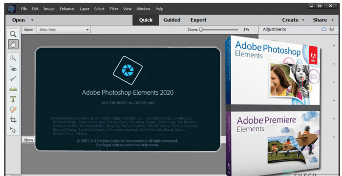 Download Adobe Photoshop Elements 2020