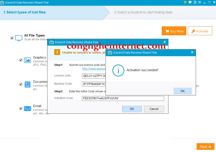 Download EaseUS Data Recovery Wizard 13.2 Full Mới Nhất