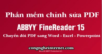 Download ABBYY FineReader 15 Mới Nhất 2020 Full