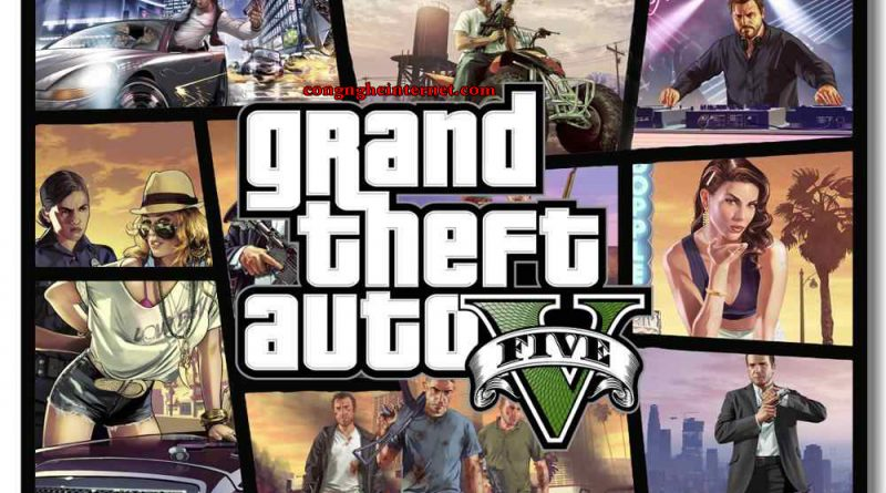 Download Game Grand Theft – GTA 5 Full Cho PC