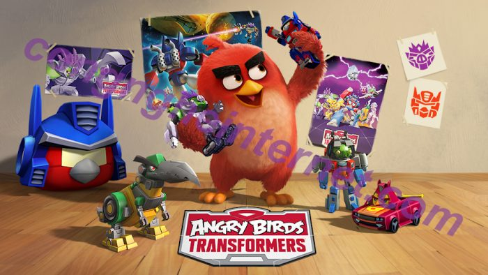 Download Angry Birds Transformers Mod