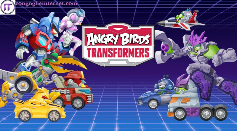 Download Angry Birds Transformers Mod v2.1.1 Full