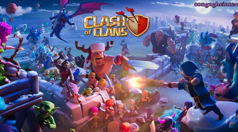 Clash of Clans Hack v13.180.16 Full tiền [Mod money/stone]