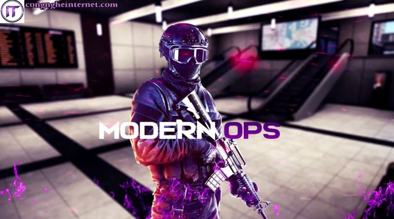 Download Modern Ops Hack Map v4.35 cho Android