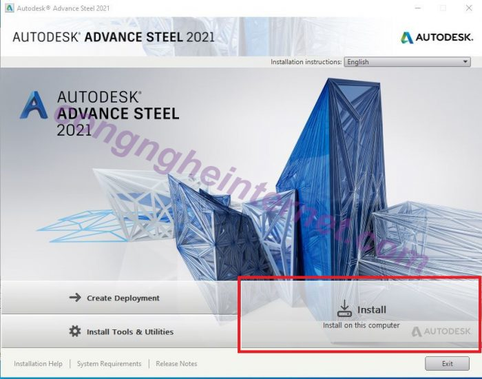 Dowload Advance Steel 2021