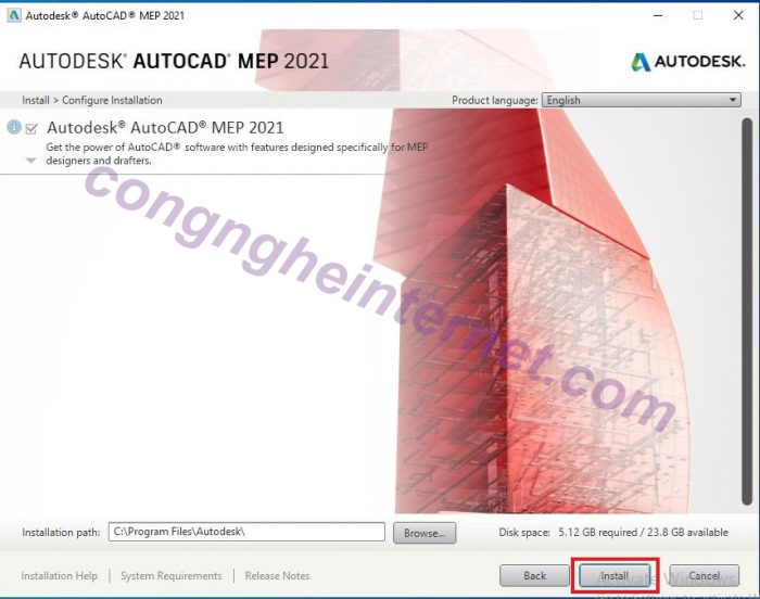 Download Autodesk AutoCAD MEP 2021