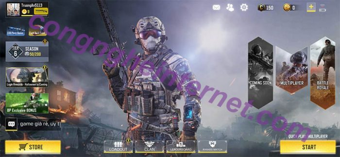 Download game Call Of Duty Hack mod