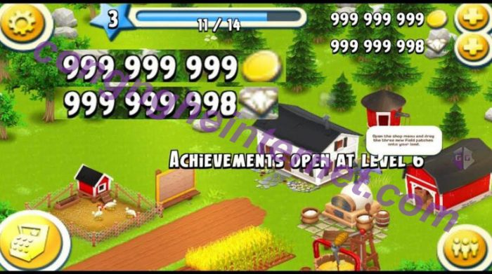Download game Hay Day Hack full MOD APK cho Android
