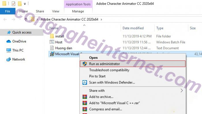 Download Adobe Character Animator CC 2020 Full