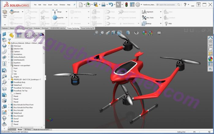 Down SolidWorks 2020