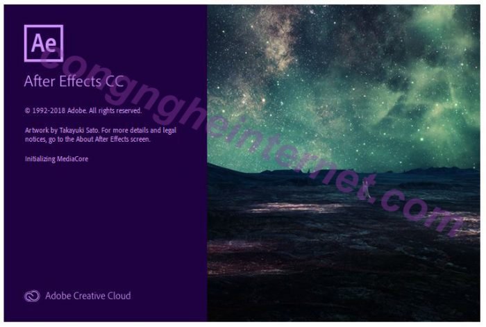 Download Adobe After Effects CC 2019 Full Mới Nhất