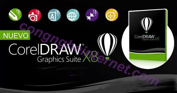 Tải CorelDRAW Graphics Suite X8 Full Crack