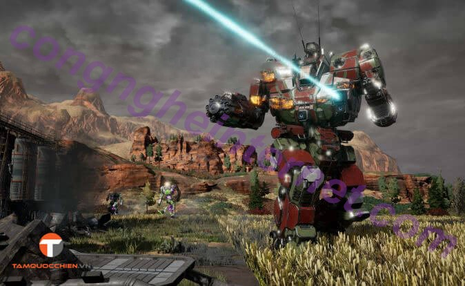 Download game MechWarrior 5 Mercenaries full cho PC