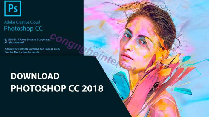 Download Adobe Photoshop CC 2018 Full