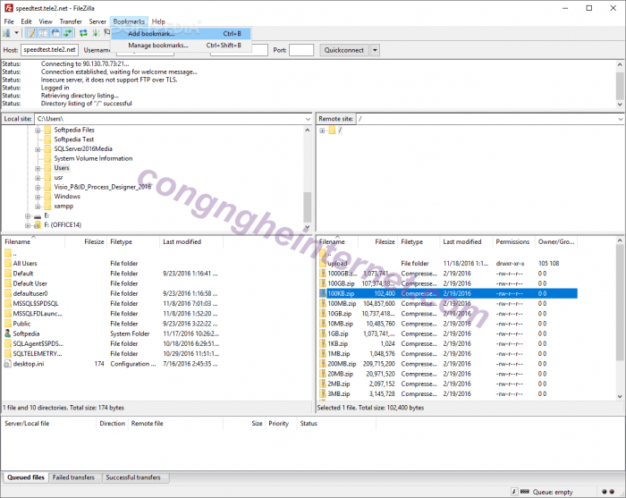Download FileZilla Pro 3.50.0