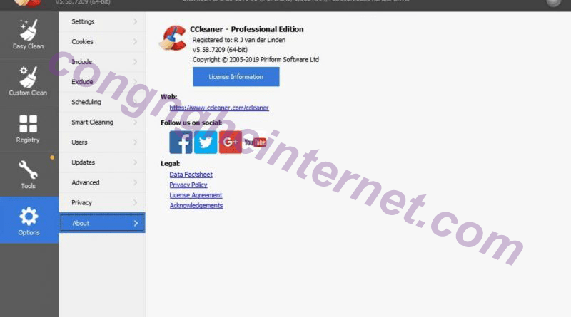 Download ccleaner Full Active 2020