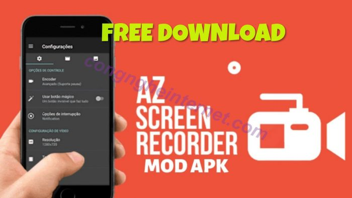 Download AZ Screen Recorder 5.2.8 Premium