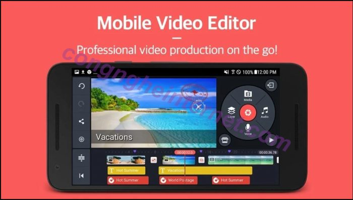 Download KineMaster Pro v4.10.17 APK