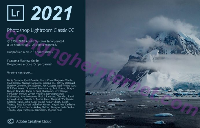 Download Adobe Photoshop Lightroom CC 2021