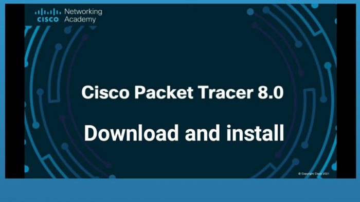 Download Cisco Packet Tracer 8